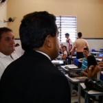 Comissão vistoria locais de prova do concurso da ALPB