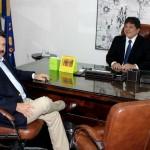 Presidente da ALRN visita a Assembleia da Paraíba