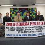 Frente de Segurança Pública realiza debate sobre assaltos no transporte