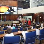 Estudantes visitam a ALPB e conhecem trabalho do Poder Legislativo