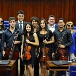Sessão Especial homenageia 85 anos da Escola de Música Anthenor Navarro
