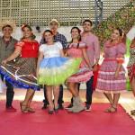 Pais e alunos participam da abertura de festejos juninos da Escola Infantil da Assembleia