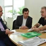 Gervásio discute parcerias entre Assembleia Legislativa e CRM