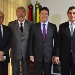 Presidente da Assembleia recebe visita de embaixador da Argentina