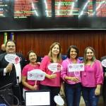 Outubro Rosa – Assembleia Legislativa promove ação de prevenção ao câncer de mama