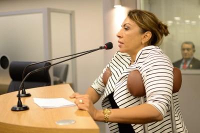 Deputado Cida Ramos (Foto: Keice Victor)