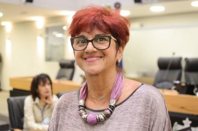 Ouvidora Liliane Targino. Foto: Nil Pereira